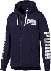 Dressipluus Puma Rebel Bold FZ Hoody FL Blue hind ja info | Meeste pusad | kaup24.ee