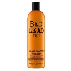 Šampoon värvitud juustele Tigi Bed Head Colour Goddess 750 ml