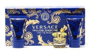 Комплект Versace Yellow Diamond Intense: edp 5 мл + гель для душа 25 мл + лосьон для тела 25 мл цена и информация | Духи для женщин | kaup24.ee