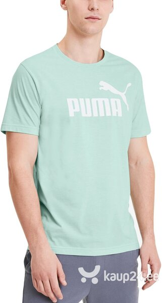 T-särk Puma Ess + Heather Tee Mist Green