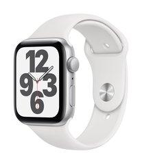 Apple Watch SE, 44mm, Silver Aluminium Case with White Sport Band hind ja info | Apple Nutikellad ja nutivõrud | kaup24.ee