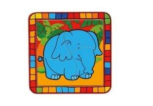 Деревянный пазл Слон, Bino