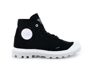 Ботинки для женщин Palladium Pampa Hi Mesh, черно-белые цена и информация | Ботинки для женщин Palladium Pampa Hi Mesh, черно-белые | kaup24.ee