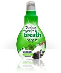 Tropiclean Fresh Breath Drops 52 ml