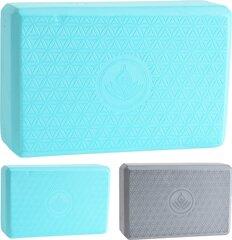 Joogaplokk XQ Max 22.8x15.2x7.6cm, hall/roheline hind ja info | Joogaplokk XQ Max 22.8x15.2x7.6cm, hall/roheline | kaup24.ee