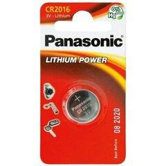 Panasonic patarei Lithium CR2016 1BP, 1 tk