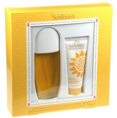 Komplekt Elizabeth Arden Sunflowers: EDT naistele 100 ml + ihupiim 100 ml