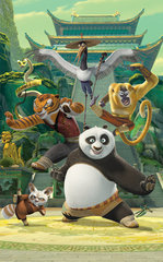 Lastetoa tapeet - plakat Kung Fu Panda