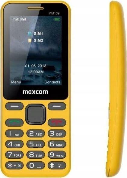 Maxcom MAXCOMMM139ZOLTY hind