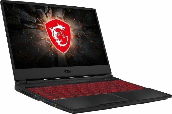 MSI GL65 Leopard (10SCSR-007XPL) 16 GB RAM/ 512 GB M.2 PCIe/ Windows 10 Home hind