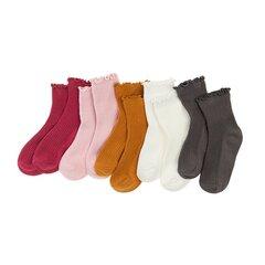 Tüdrukute sokid Cool Club, 5 paari, CHG2110648-00 hind ja info | Tüdrukute sukkpüksid ja sokid | kaup24.ee