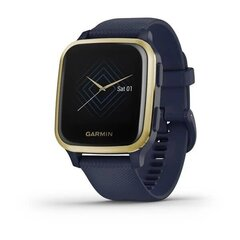Garmin Venu Sq, NFC-Music, Captain Blue/Light Gold цена и информация | Смарт-часы (smartwatch) | kaup24.ee