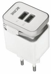 USB laadija ACME CH17 + microUSB juhe