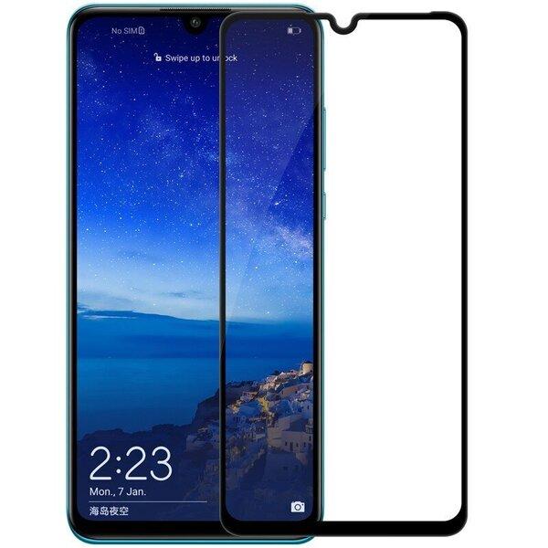 Ekraani kaitseklaas telefonile HUAWEI Y6P 2020Tempered glass Full Glue, Full Cover SOUNDBERRY hind ja info | Ekraani kaitsekiled | kaup24.ee