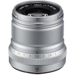 Fujinon XF 50mm f/2 R WR lens, silver hind ja info | Filtrid fotoaparaatidele | kaup24.ee