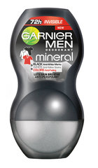 Rulldeodorant Garnier Men Mineral Black White Colors