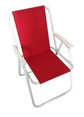 Kokkupandav turisti tool Tic, punane hind ja info | Aiatoolid | kaup24.ee