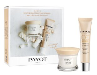 Komplekt Payot Beauty Rutine For Sensitive Skin: näokreem 50 ml + CC kreem 40 ml hind ja info | Näokreemid | kaup24.ee