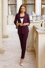 Naiste komplekt topp, jakk ja püksid, lilla hind ja info | Naiste kostüümid | kaup24.ee