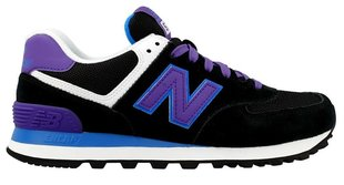 Naiste spordijalanõud New Balance 574, must/lilla/sinine