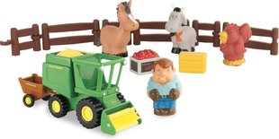 Komplekt koos traktoriga John Deere First Little Farm Harvest Time, 43069A1