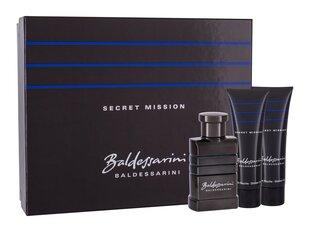 Komplekt Baldessarini Secret Mission: EDT meestele 50 ml + dušigeel 50 ml x 2 hind ja info | Meeste parfüümid | kaup24.ee