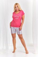 Naiste pidžaama Taro DPS-177, roosa hind ja info | Öösärgid, pidžaamad | kaup24.ee