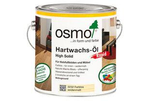 Kiirelt kuivav õlivaha OSMO 3240 valge läbipaistev, 2,5l цена и информация | Kiirelt kuivav õlivaha OSMO 3240 valge läbipaistev, 2,5l | kaup24.ee
