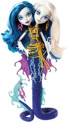 Nukk kaksikud Peri ja Perla Monster High Great Scarrier Reef DHB47