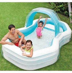 Надувной бассейн Intex Swim Center Family Cabana