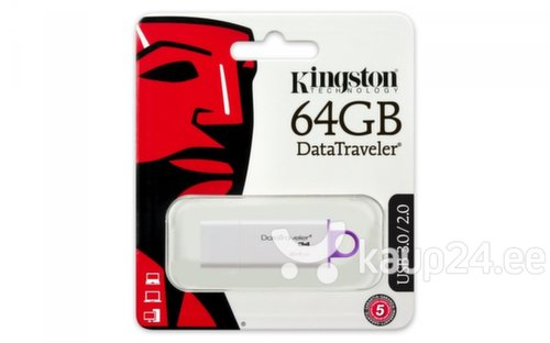 Mälupulk KINGSTON DataTraveler DTI G4, 64 GB, USB 3.0