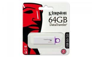 Mälupulk KINGSTON DataTraveler DTI G4, 64 GB, USB 3.0