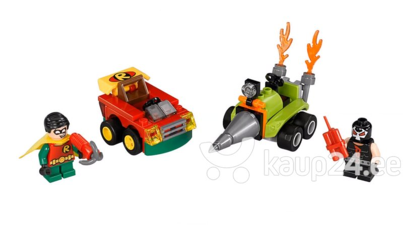 76062​ LEGO® SUPER HEROES Mighty Micros: Robin™ vs. Bane™