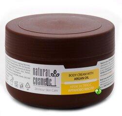 Крем для тела с аргановым маслом Natural Cosmetic 300 мл