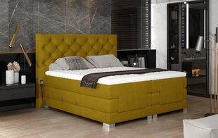 Elektriline voodi NORE Clover 11, 160x200, kollane hind ja info | Voodid | kaup24.ee