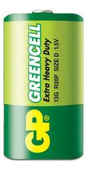 GP Greencell patarei R20 (D)