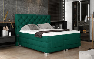 Elektriline voodi NORE Clover 10, 160x200, roheline hind ja info | Voodid | kaup24.ee