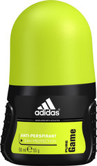 Rulldeodorant Adidas Pure Game meestele 50 ml