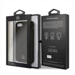 Ümbris Mercedes MEHCI8SILBK Apple iPhone 7/8/SE2 must hind ja info | Telefoni kaaned, ümbrised | kaup24.ee