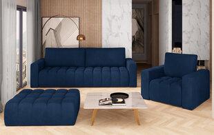 Pehme mööbli komplekt NORE Lazaro 05, sinine hind ja info | Pehme mööbli komplektid  | kaup24.ee