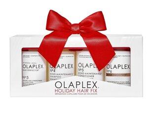 Juuksehooldustoodete komplekt Olaplex Holiday Hair Fix hind ja info | Maskid, õlid, seerumid | kaup24.ee