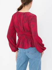 Naiste pluus Vero Moda, punane hind ja info | Naiste pluusid, särgid | kaup24.ee