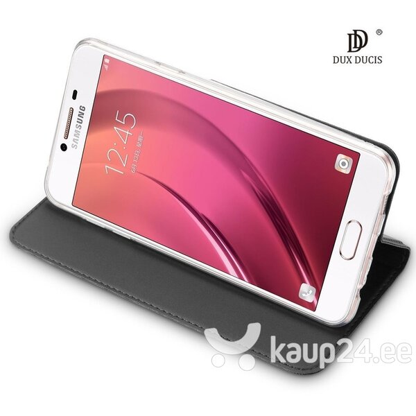 Dux Ducis Premium Magnet Case For Asus Zenfone Max (M1) ZB555KL Grey hind ja info | Telefoni kaaned, ümbrised | kaup24.ee