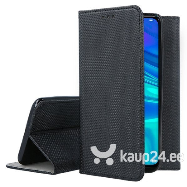 Mocco Smart Magnet Book Case For Sony Xperia XZ4 Black tagasiside