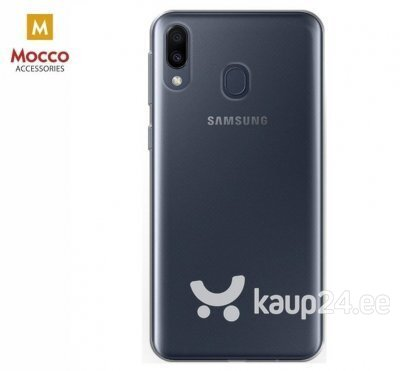 Mocco Ultra Back Case 0.3 mm Silicone Case for Samsung M205 Galaxy M20 Transparent hind ja info | Telefoni kaaned, ümbrised | kaup24.ee