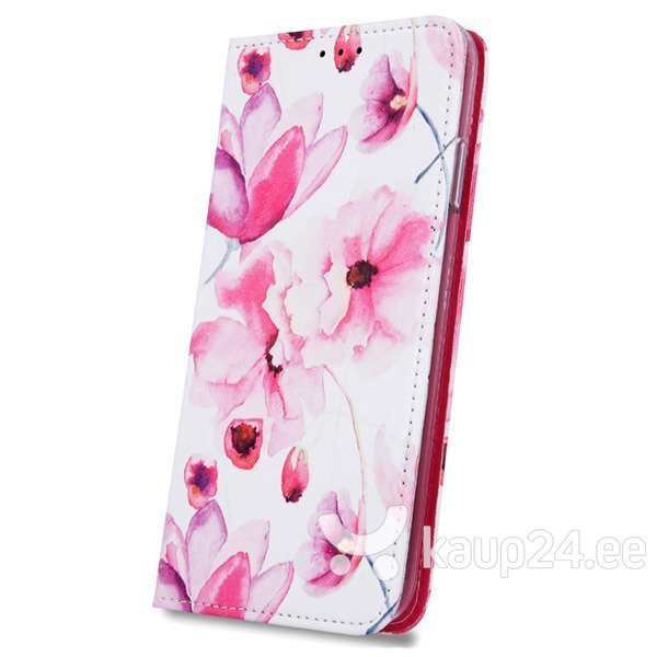 Mocco Smart Trendy Book Case For Samsung G960 Galaxy S9 Pink Flowers Internetist