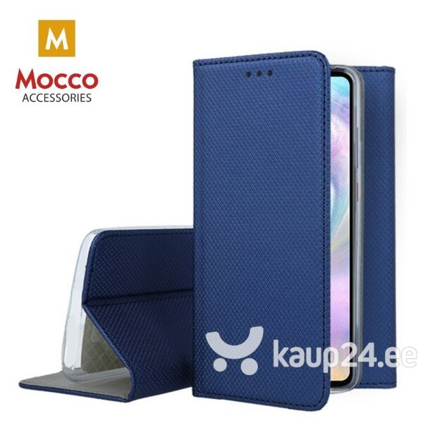 Mocco Smart Magnet Book Case For Samsung A405 Galaxy A40 Blue hind ja info | Telefoni kaaned, ümbrised | kaup24.ee