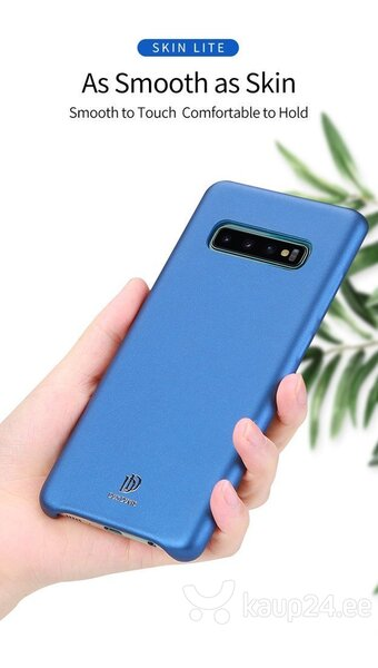 Dux Ducis Skin Lite Case High Quality and Protect Silicone Case For Samsung G973 Galaxy S10 Blue Internetist