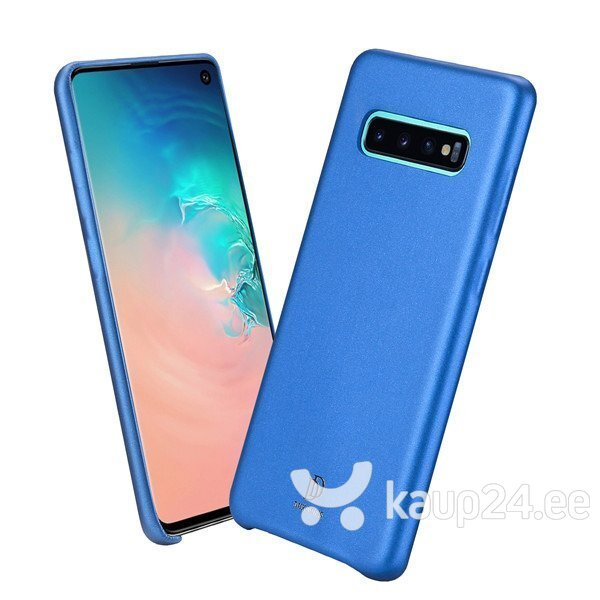 Dux Ducis Skin Lite Case High Quality and Protect Silicone Case For Samsung G975 Galaxy S10 Plus Blue hind ja info | Telefoni kaaned, ümbrised | kaup24.ee