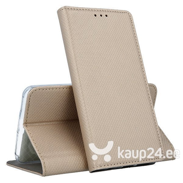 Mocco Smart Magnet Book Case For Nokia 9 PureView Gold tagasiside